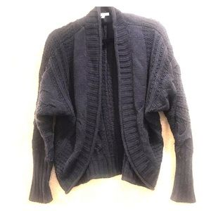 DeLias Thick Cable Knit Cardigan Size Small